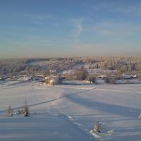 Зима в Лимеже