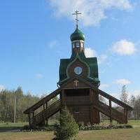 Самушкино. Церковь Сретения Господня, другой ракурс