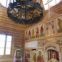 Самушкино. Церковь Сретения Господня, убранство