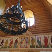 Самушкино. Церковь Сретения Господня, фрагмент