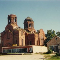 Никольский храм в с. Горки (до восстановления)