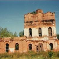 Храм Троицы Живоначальной в с. Лелечи (до восстановления)