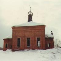 Храм Рождества Христова в д. Мальково (до восстановления)