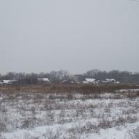 зима пришла в хутор