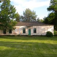 Здание бывшей школы в селе Щетиновка Белгородской области