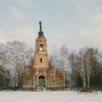 Спасо-Преображенский храм в д. Андреевские Выселки до восстановления