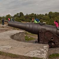 Пушки крепости Свеаборг