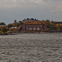 Вид на крепость Свеаборг
