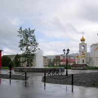 Фантан на площади