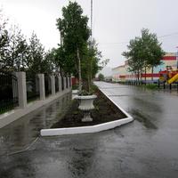 В центре поселка