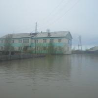ул.Асямова во время наводнения 2014г.