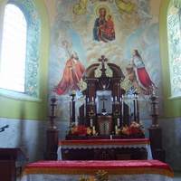 Алтарь костела Пресвятой Девы Марии Розария