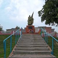 Братская могила советских 167  воинов