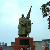 Памятник на братской могиле в селе Курасовка