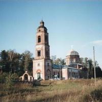 Покровский храм в Пашнево. Вид с юго-запада