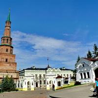 Башня Сююмбике. Казанский кремль.