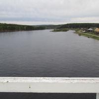 Бурма. Вид с нового моста.