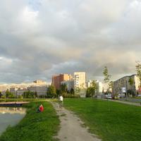 Вид на город.Проспект Королёва.