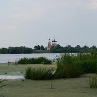 Дединово, Троицкая церковь на левобережье