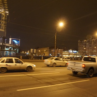 На проспекте Добролюбова.
