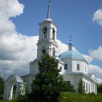 Церковь в деревне Вселуки