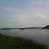 Поворот реки Вишеры у села Редикор