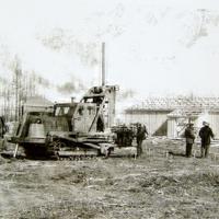 Бурение скважин на складе ВВ п.Развилка 5.1980