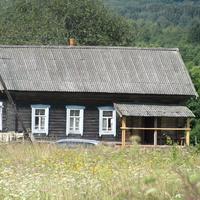 Первый дом на въезде в Раменье