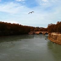 Мост на Тибрe, Рим