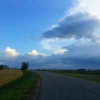 По дороге в Вышкаво.