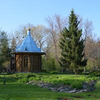 Часовенка в парке Жастар (Кирова)