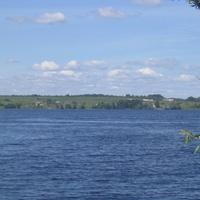 Вид на озеро Волго у д. Ясенское.