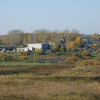 Село Бигила. Вид с Першинской дороги.