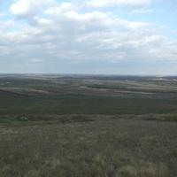 Вид на село Троицкое и на село Светлодолинское