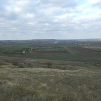 Вид на с. Троицкое с юга