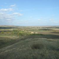 Вид на село с юга