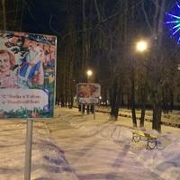Зимняя аллея в Новодвинске