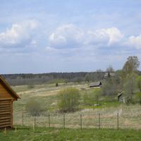 Вид на Раменье ранней весной.
