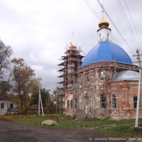 Церковь Покрова Пресвятой Богородицы в  с. Омофорово
