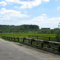 д. Волково, мост через р. Нергель