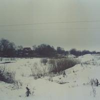 Речка Должанка, зима 2003 года