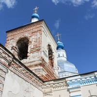 Воспушка. Церковь Иерусалимской иконы Божией Матери.