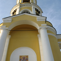 Черкутино. Колокольня церкви Рождества Пресвятой Богородицы.