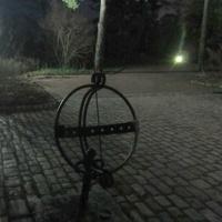 Территория Усадьбы Майвик, глобус