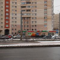 На Стародеревенской улице.