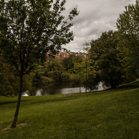 Парк на улице Белогорской
