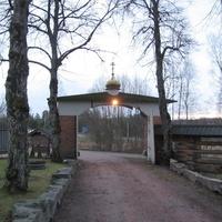 """Православный мужской монастырь """"Покровское братство"""" расположенное на территории усадьбы"""
