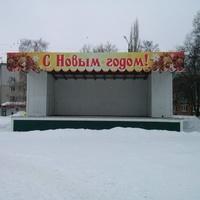 главная площадь пгт Петра-Дубрава