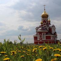 Криводановка. Храм Рождества Иоана Крестителя