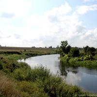 Река Нерль в окрестностях с .Кидекша